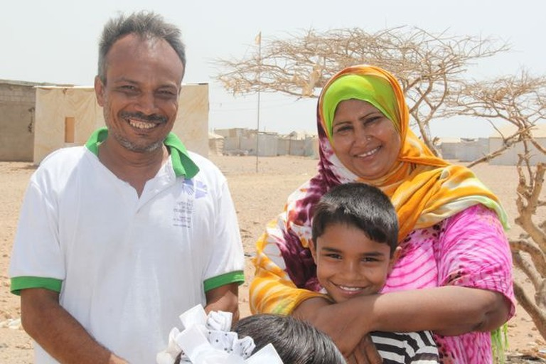 yemeni family in obock