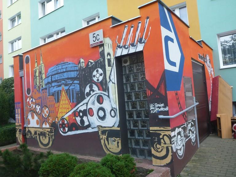 Zaspa murals Jonny Blair Magda Labuda1