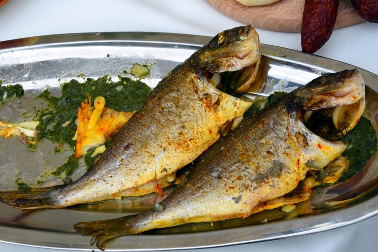 Pstrąg po galicyjsku (Galician trout)