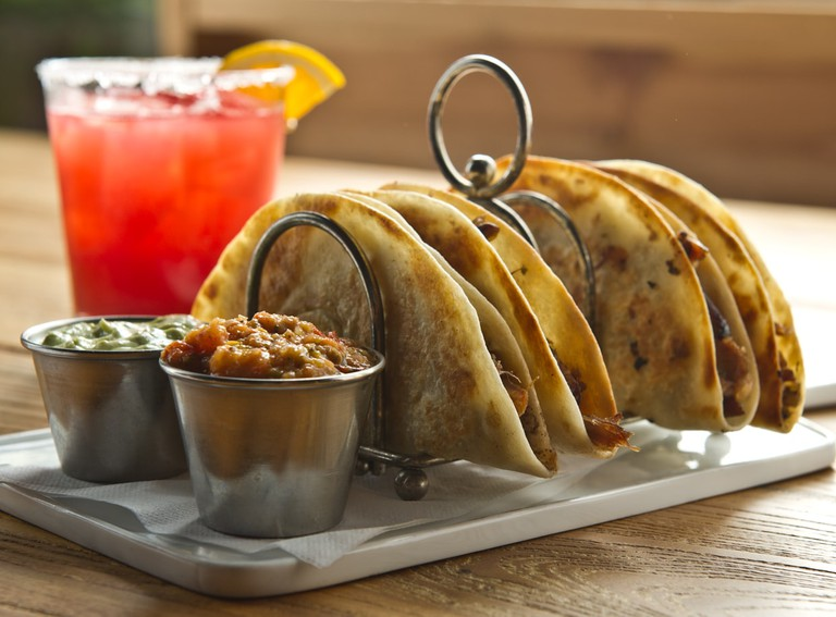 Many restaurants in Texas have a Tex-Mex section like Tillman's Roadhouse