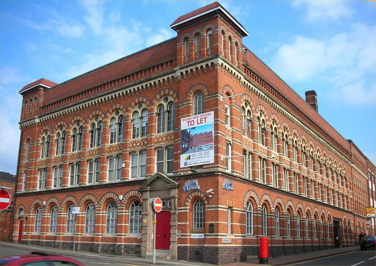 Former pen factory in the Jewellery Quarter
