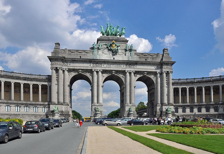 Triumphal Arch of the Cinquantenaire, Brussels