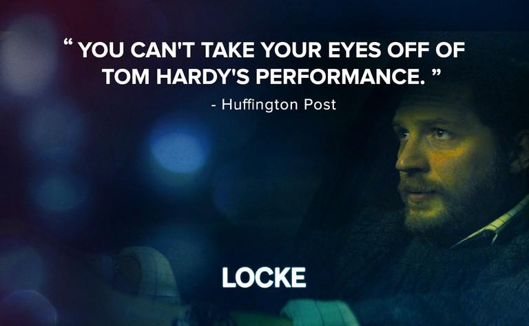 Locke, Tom Hardy