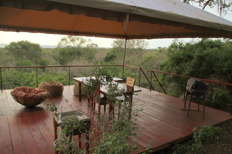 Relaxed glamping close to the beach at Pardus Seek