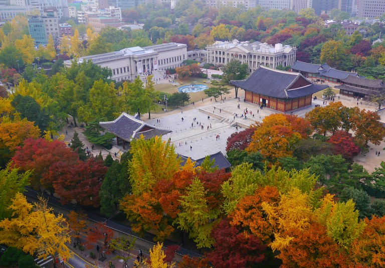 Korea transforms into a colorful work of art in fall