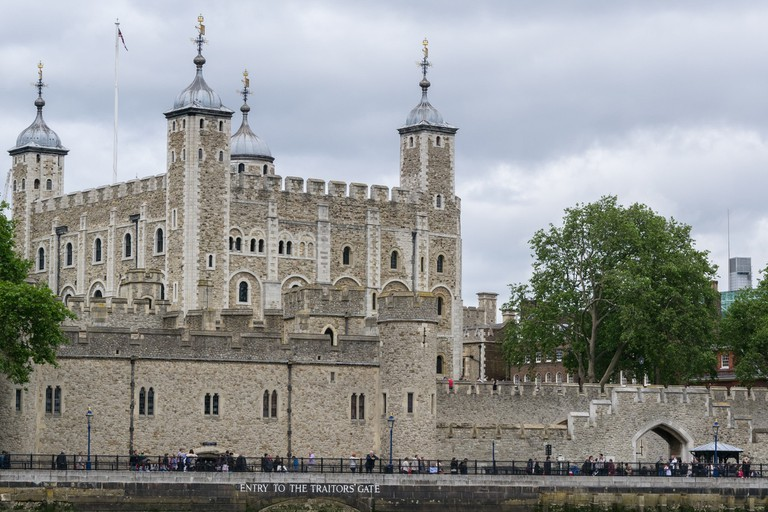 The Tower of London, the place of Anne's execution