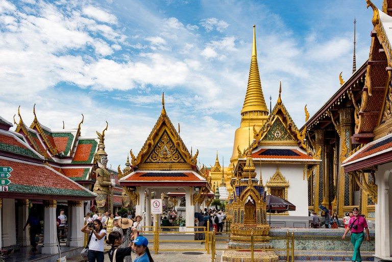 Buildings inside Bangkok's Grand Palace