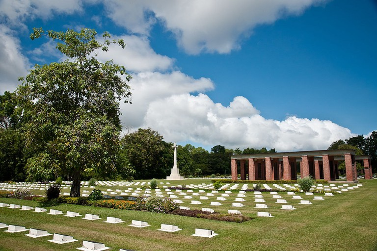 One of the attractions in Labuan is the War Cemetery