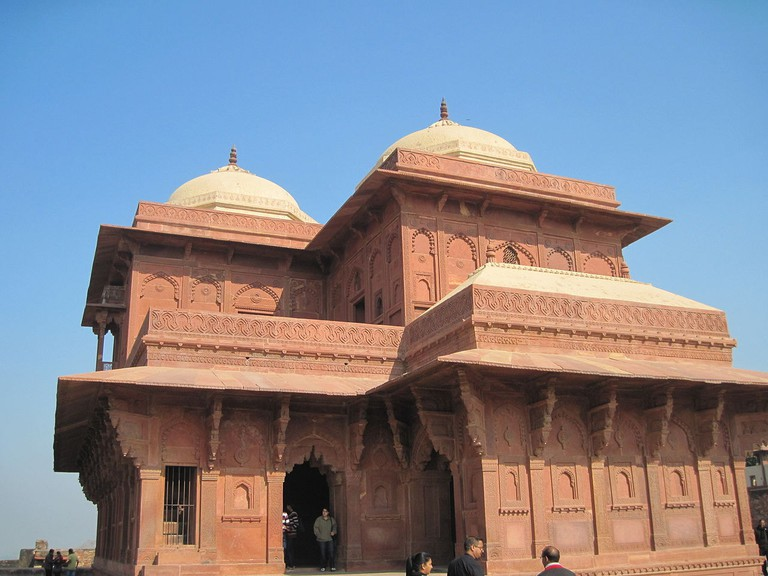 Birbal's was the only courtier to get a special place near Akbar's palace at Fatehpur Sikri