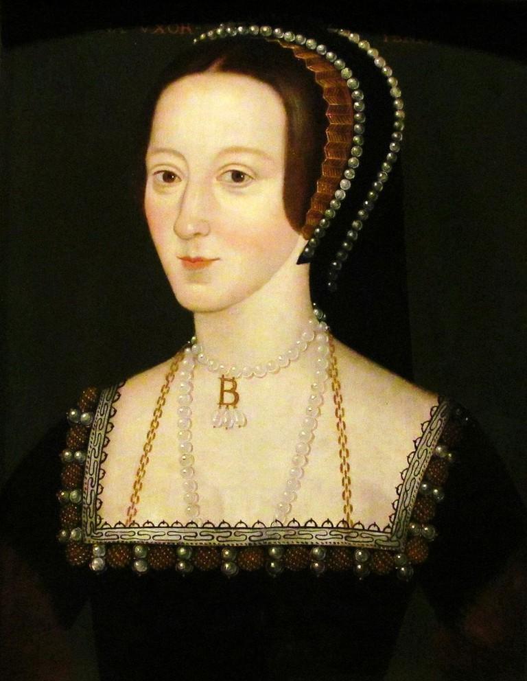 Unknown English artist, Anne Boleyn, circa 1533-1536