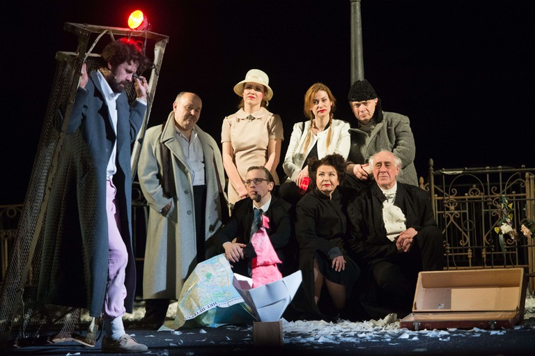 City. Marriage. Gogol. finale