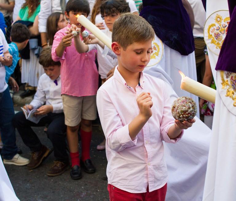 candles, Semana Santa, Spain