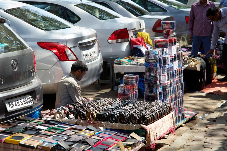 Indian cities have an informal market for everything from fake electronics to even stolen goods