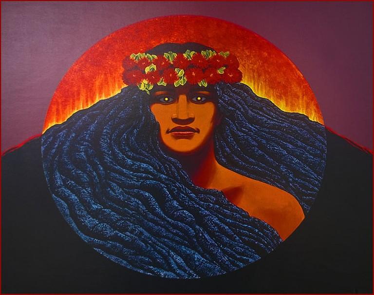 'Pele' -- Hawaiian Goddess of Volcanoes The Big Island (HI) 2014