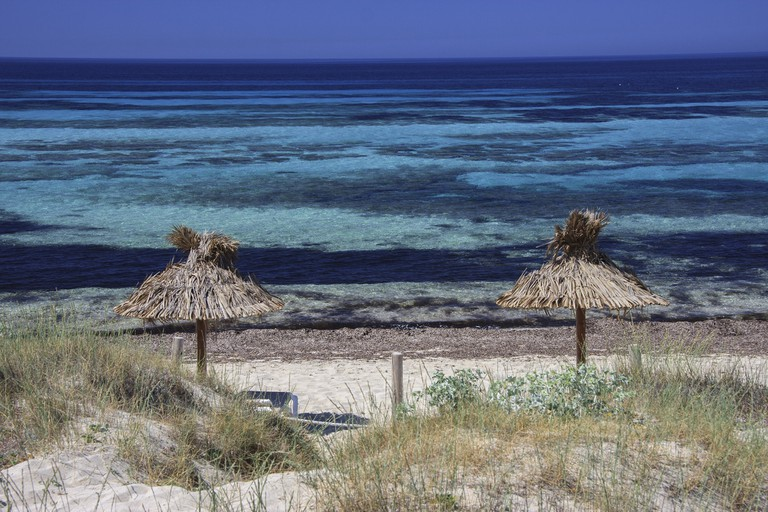 The peaceful beaches of Formentera
