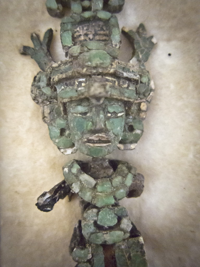Mayan jade artifact from Guatemala