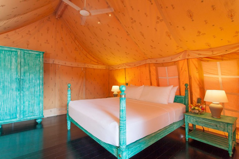 Easy luxury at Jetwing Tented Villas