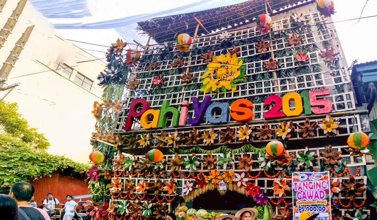 Pahiyas Festival decorations