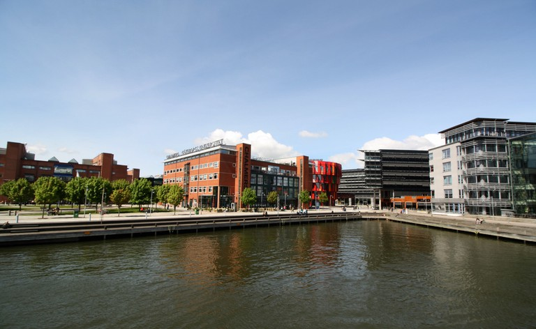 Kuggen with other Chalmers buildings