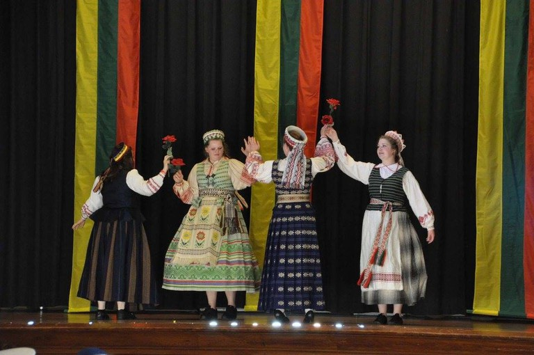 Malūnas Dance Group Lithuanian Hall