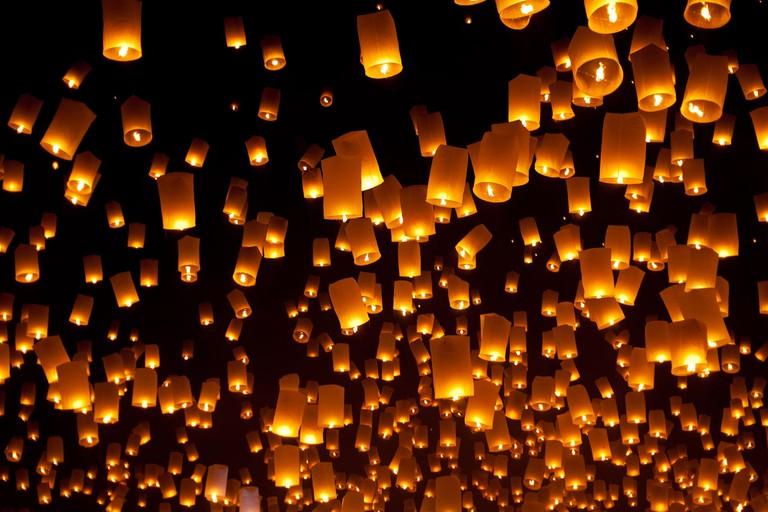 Lanterns for Yee Peng