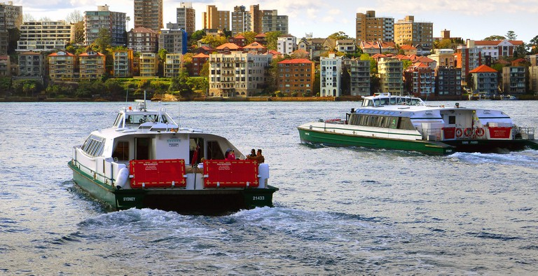 Parramatta River ferries