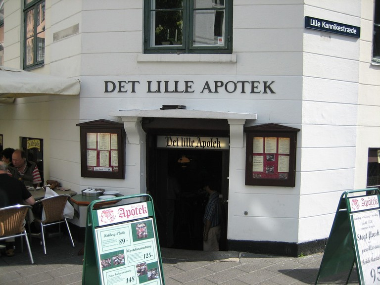 Det Lille Apotek oldest restauran copenhagen