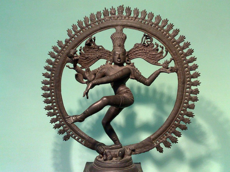 Rare artefacts like this Nataraja sculpture are on display at the National Museum, New Delhi
