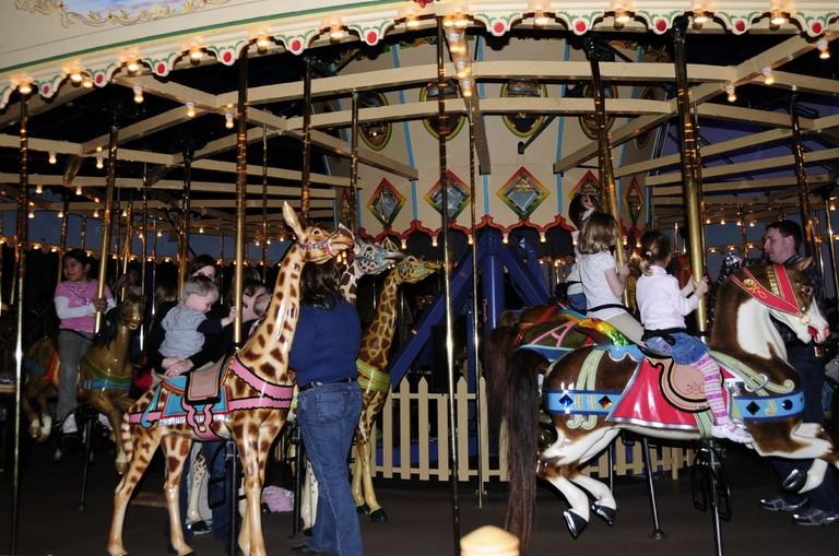 Indy Museum Carousel | Valerie Everett/Flickr