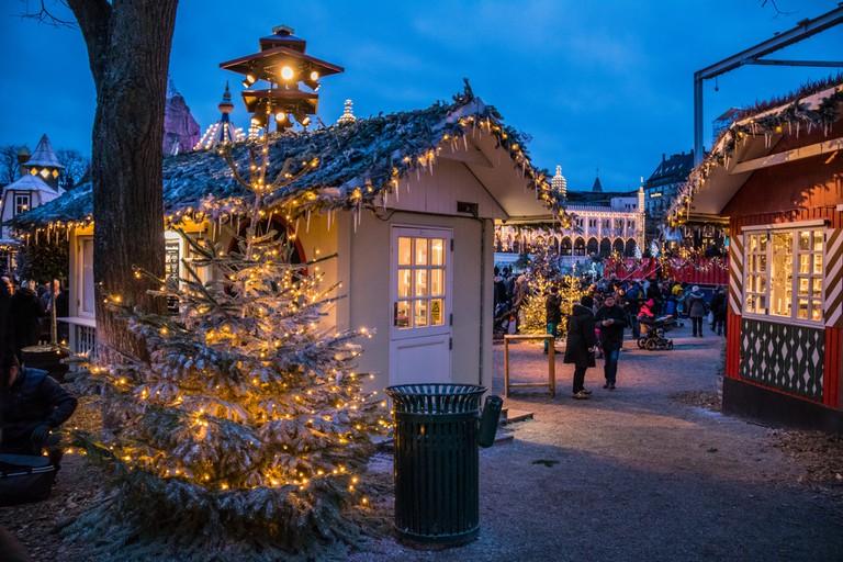 tivoli christmas market copenhagen