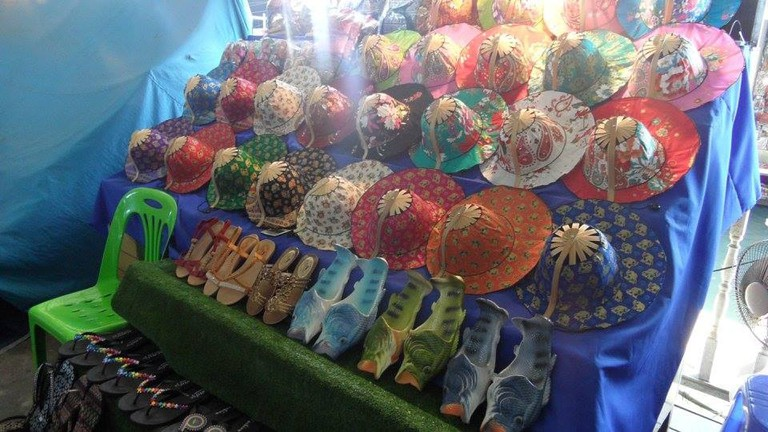 Market stall in Thailand