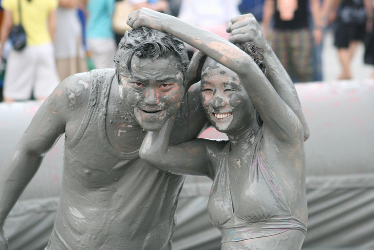 Things get dirty at Boryeong Mud Festival, held every July