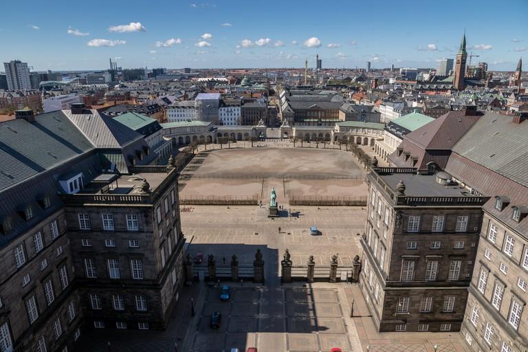 Tårnet Christiansborg palace, copenhagen