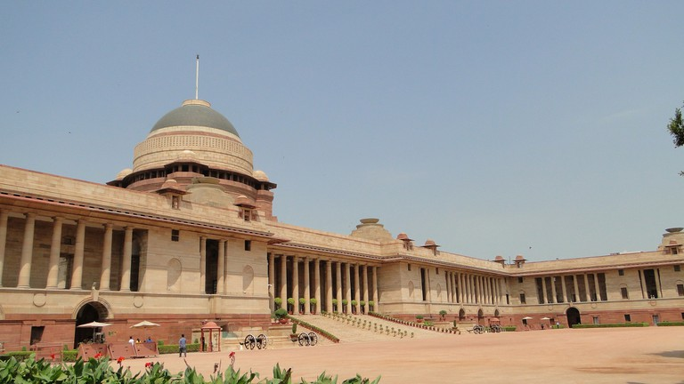 Rashtrapati Bhavan is the official residence and workplace of the President of India