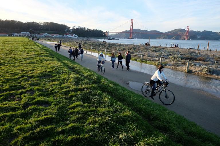 Crissy Field Promenade Repair