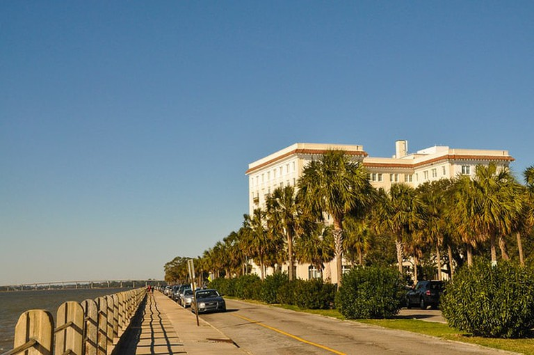 The Battery in Charleston, South Carolina l