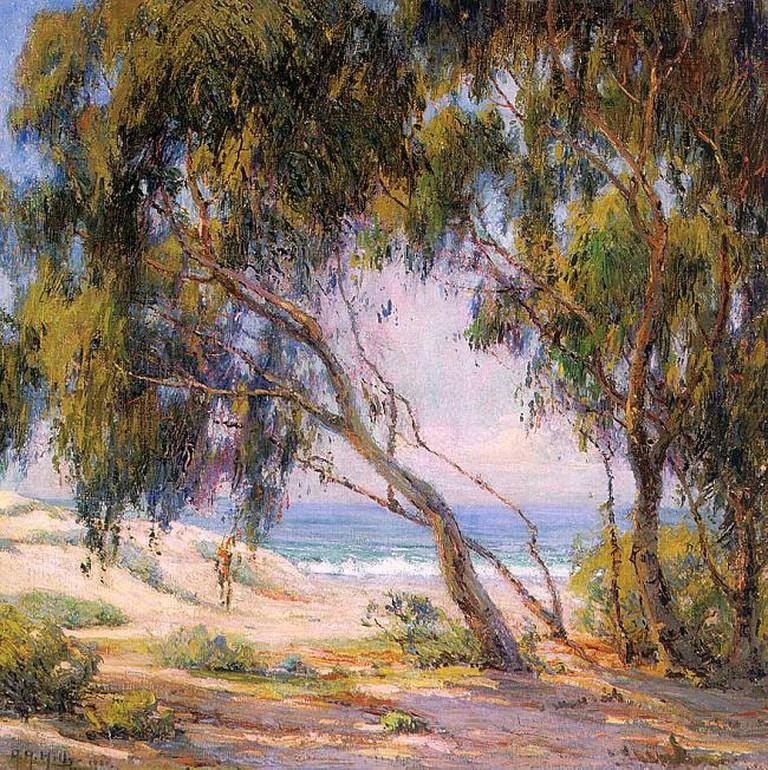 Anna Althea Hills, Beside the Sea, 1921