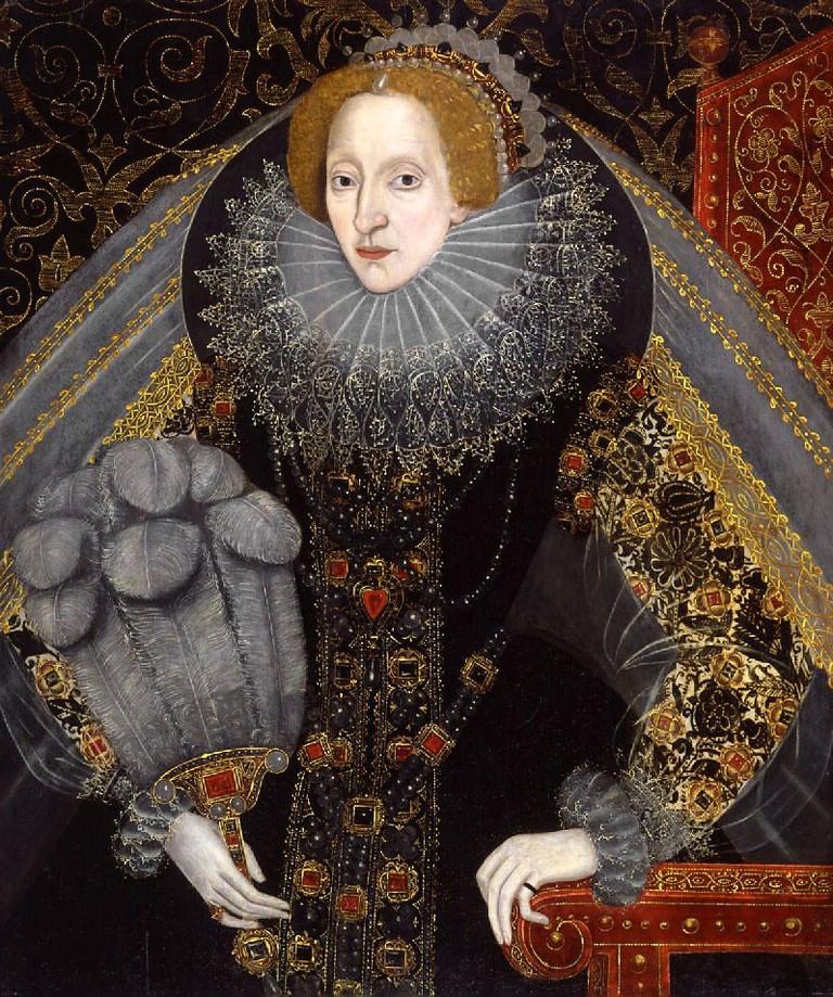 Unknown Artist, Elizabeth I, circa 1585-1590