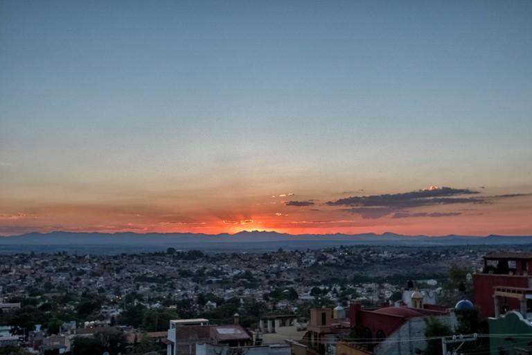 San Miguel sunset │ © Waywuwei / Flickr