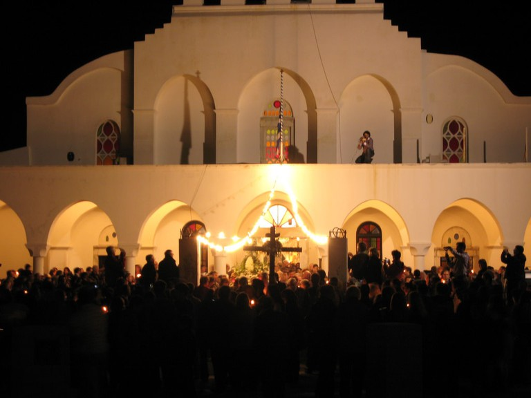 Good Friday procession, Naxos