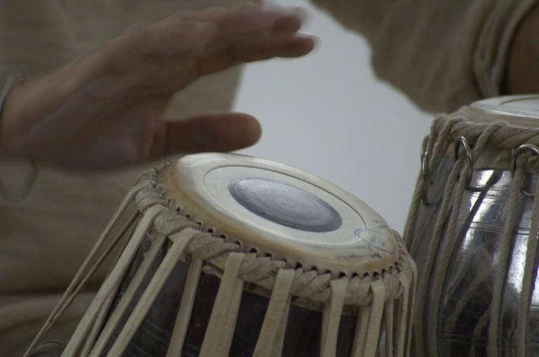The Indian tabla