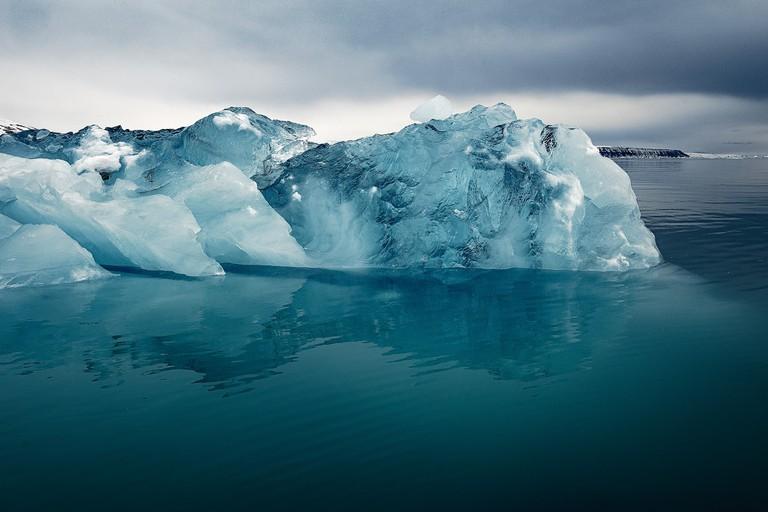 Approaching Spitsbergen, Svalbard