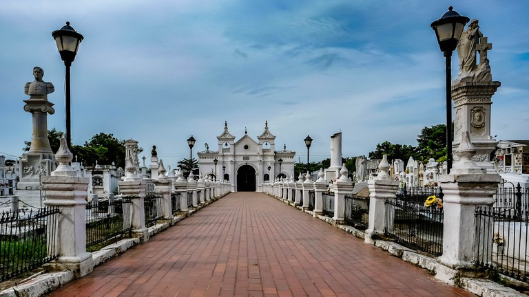 Municipal Cemetary of Mompox, where Serenade of the Dead takes place