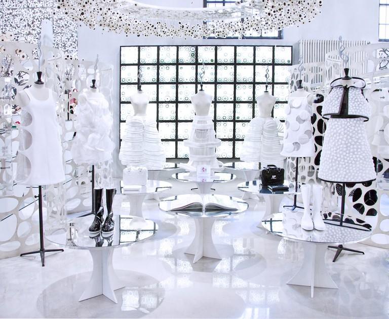 Avant garde women's wear at 10 Corso Como, Milan | Courtesy 10 Corso Como, Milan