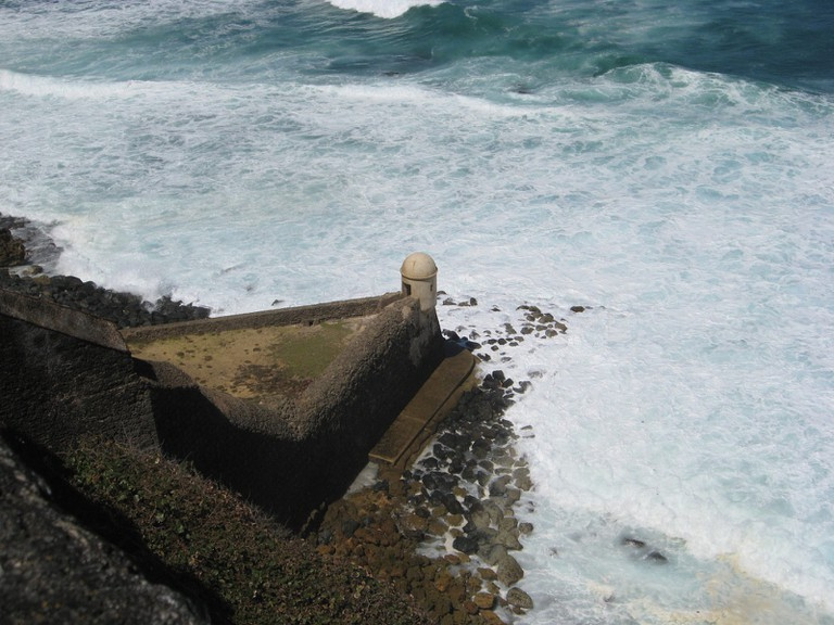 The Devil's Sentry Box, Castillo San Cristobal, Old San Juan, Puerto Rico