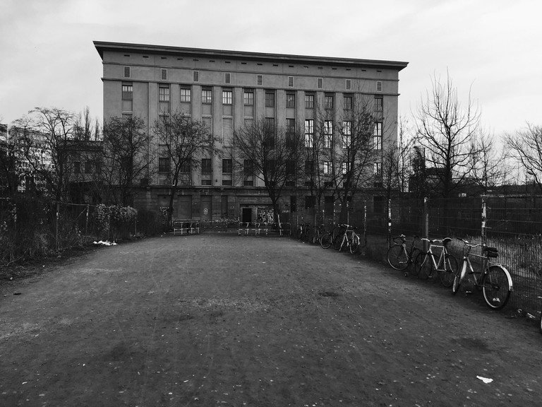 Berghain in black and white