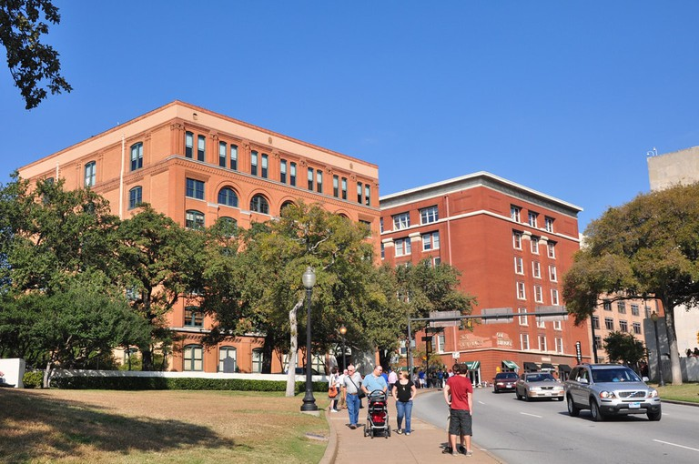 Dealey Plaza is home to the Sixth Floor Museum and the Grassy Knoll