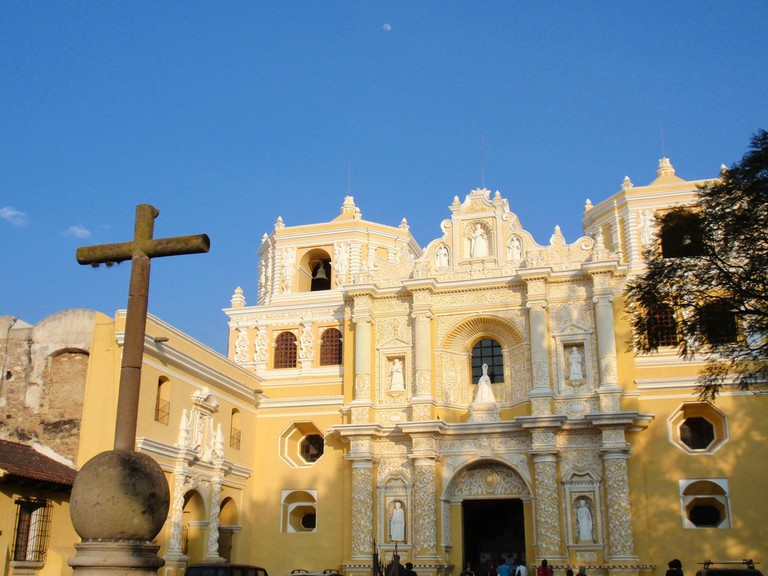La Merced church in Antigua Guatemala