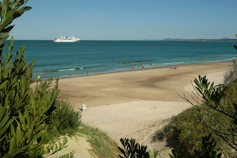 Cruising along the Uruguayan coast