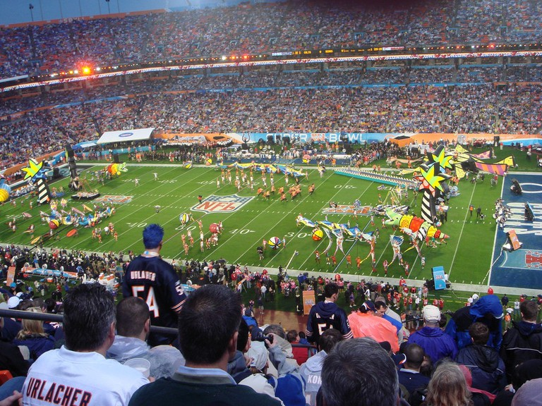 Superbowl XLI | © Kevin Clauson/Flickr